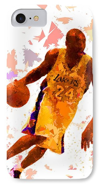 IPhone Case featuring the painting Basketball 24 by Movie Poster Prints