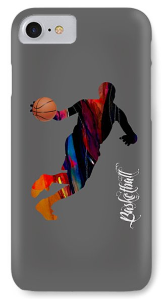 Basketball Collection IPhone Case by Marvin Blaine