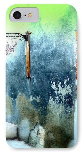 Basketball Court IPhone Case by Funkpix Photo Hunter