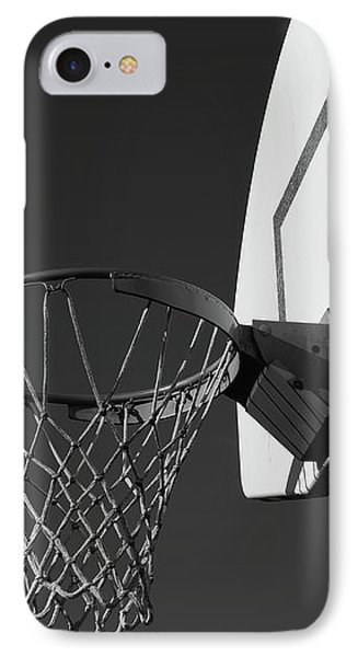 Basketball Court IPhone Case by Richard Rizzo
