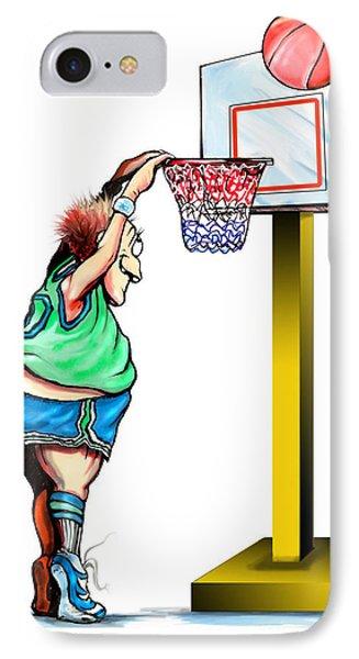 Basketball Dunk IPhone Case