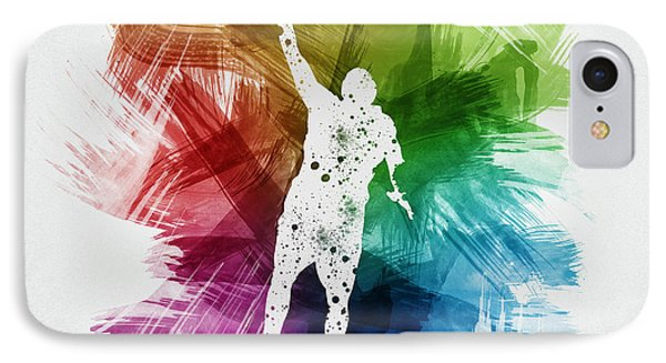 Basketball Player Art 19 IPhone Case by Aged Pixel