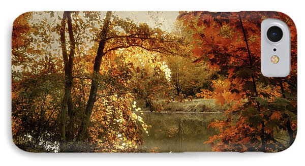 Basking In Autumn IPhone Case by Jessica Jenney