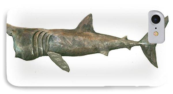 Basking Shark IPhone Case