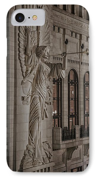 Bass Hall Angelic Herald IPhone Case by Stephen Stookey
