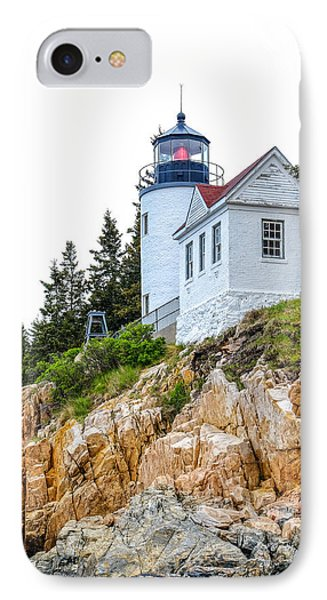 Bass Harbor Head Lighthouse 1 IPhone Case by John McArthur
