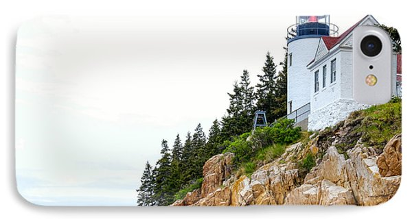 Bass Harbor Head Lighthouse 2 IPhone Case by John McArthur