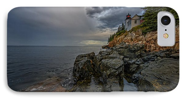 Bass Harbor Head Lighthouse At Dawn IPhone Case