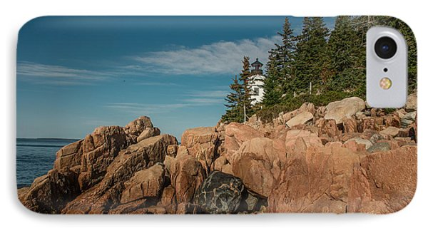Bass Harbor Head Lighthouse IPhone Case by Capt Gerry Hare