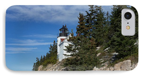 Bass Harbor Light IPhone Case by Capt Gerry Hare