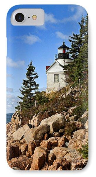 Bass Harbor Light Phone Case by John Greim