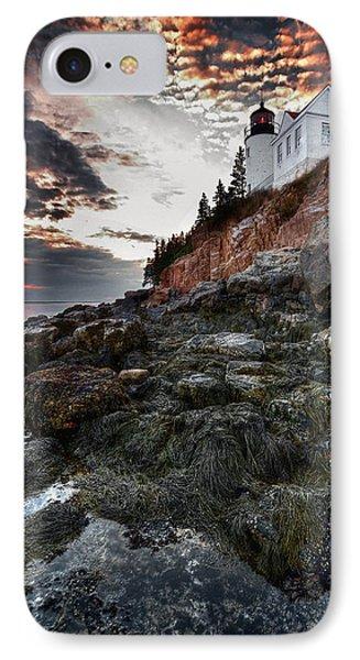 Bass Harbor Light IPhone Case by Neil Shapiro