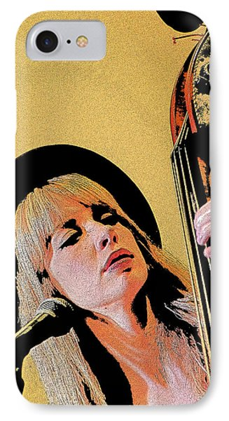 IPhone Case featuring the photograph Bass Player by Jim Mathis