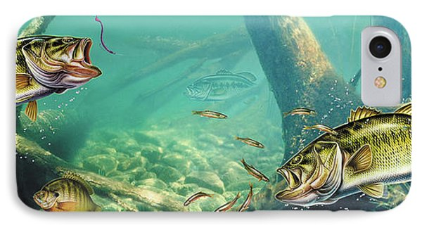 Bass Pond IPhone Case by Jon Wright