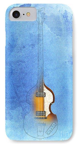Bass Vintage Blue IPhone Case
