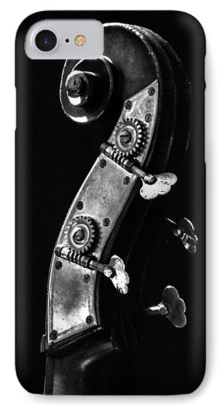 IPhone Case featuring the photograph Bass Violin by Julia Wilcox