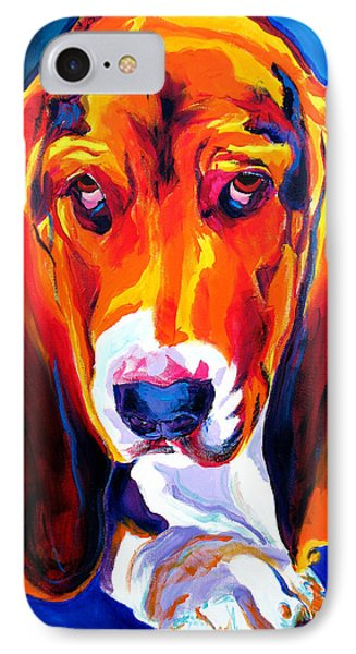 Basset - Ears IPhone Case by Alicia VanNoy Call