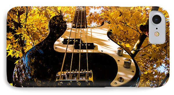 Bassic Autumn IPhone Case by Mick Anderson