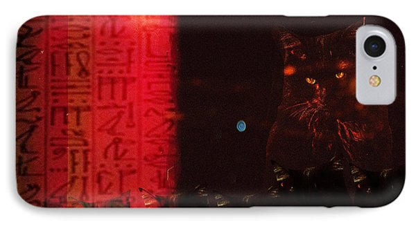 Bastet's Minions IPhone Case by Ann Tracy