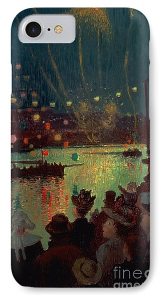 Bastille Day At Lorient Phone Case by Henry Moret