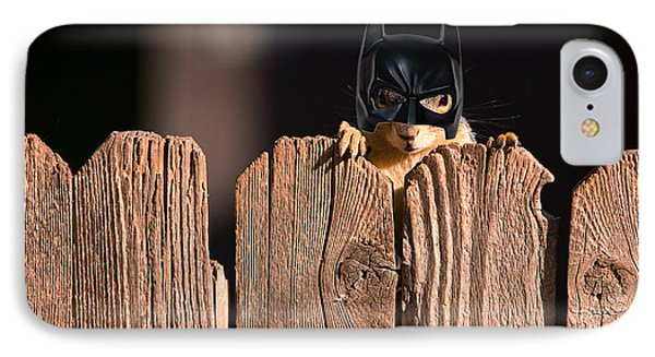 Bat Squirrel  The Cape Crusader Known For Putting Away Nuts.  Phone Case by James BO  Insogna