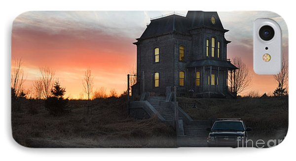 Bates Motel At Night IPhone Case