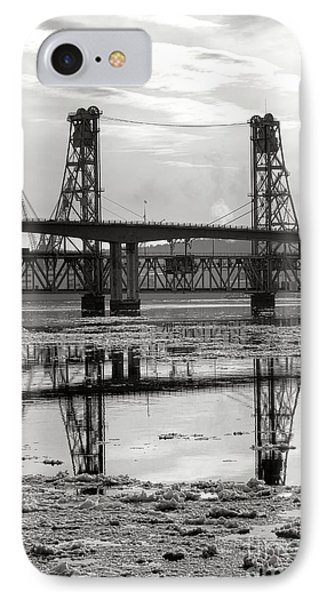 Bath Bridges In Winter IPhone Case by Olivier Le Queinec