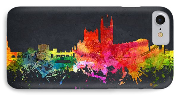 Bath Cityscape 07 IPhone Case by Aged Pixel