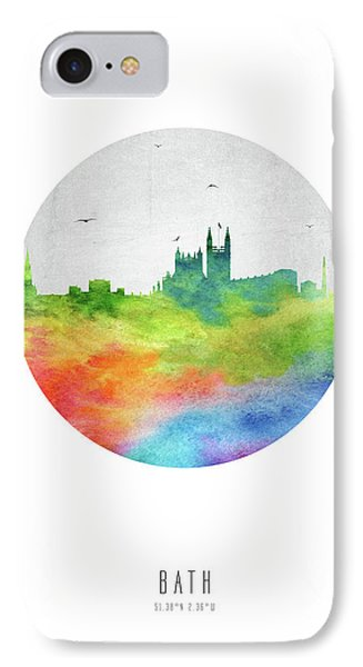 Bath Skyline Gbba20 IPhone Case by Aged Pixel