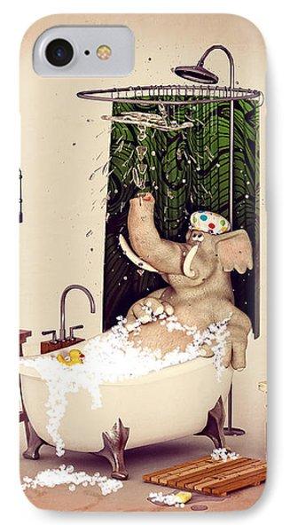 Bath Time IPhone Case