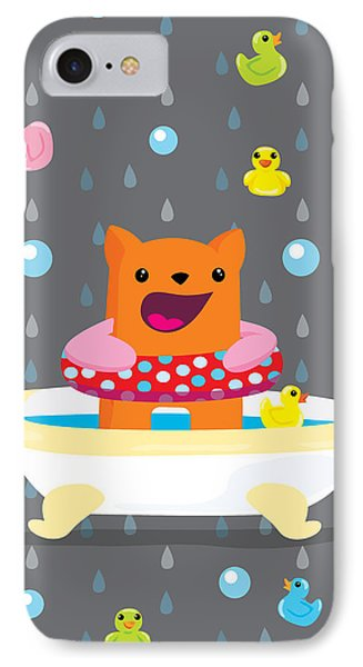 Bath Time  Phone Case by Seedys