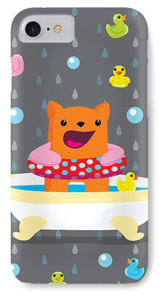 Bath Time  IPhone Case by Seedys