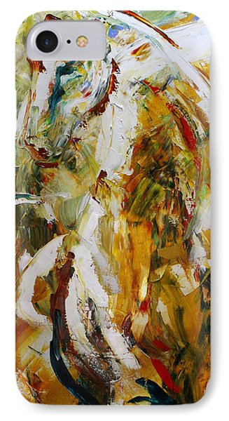 Bathed In Gold Phone Case by Laurie Pace