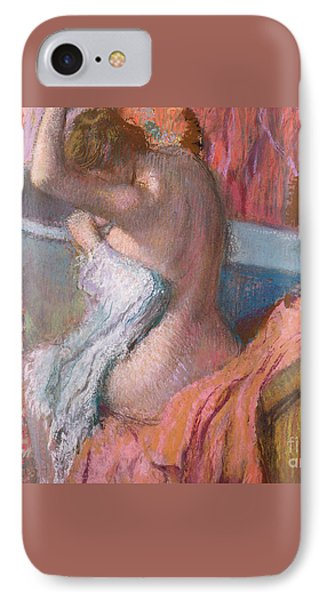 Bather IPhone Case by Edgar Degas