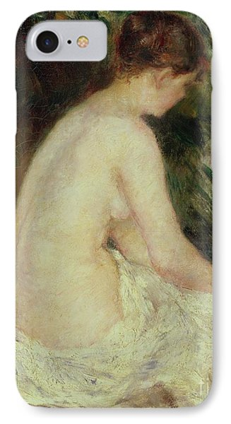 Bather IPhone Case by Pierre Auguste Renoir