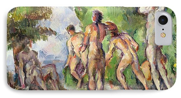 Bathers IPhone Case by Paul Cezanne