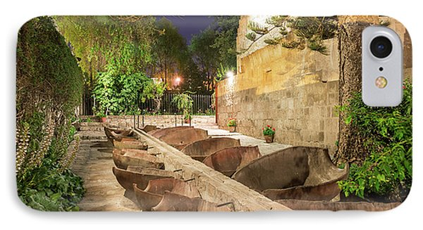 Bathing Area In Santa Catalina Monastery IPhone Case