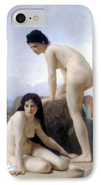 Bathing Beauties IPhone Case by Georgiana Romanovna