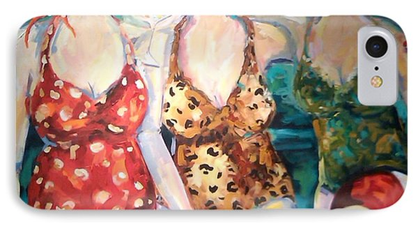 Bathing Beauties  IPhone Case by Heather Roddy