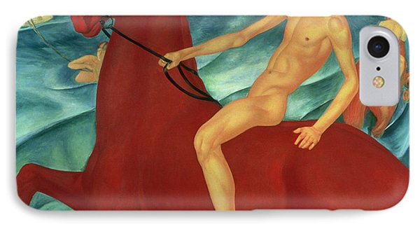 Bathing Of The Red Horse IPhone 7 Case by Kuzma Sergeevich Petrov-Vodkin