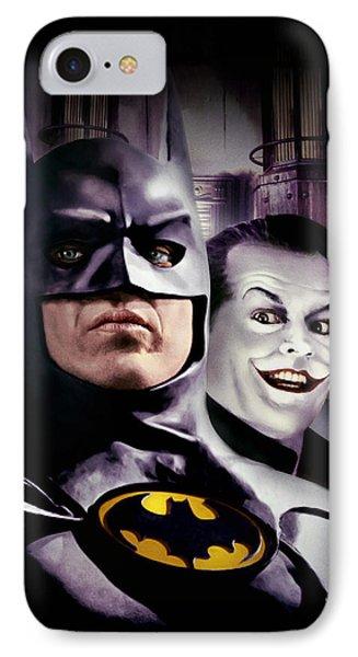 Batman 1989 IPhone Case by Caio Caldas