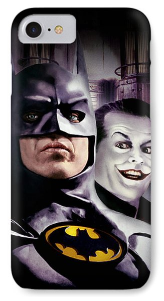 Batman 1989 IPhone Case by Unknown