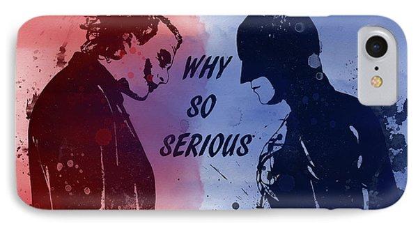 Batman And Joker IPhone 7 Case