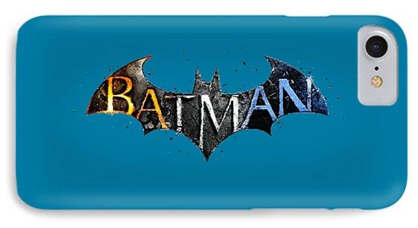 Batman  IPhone Case by Herb Strobino