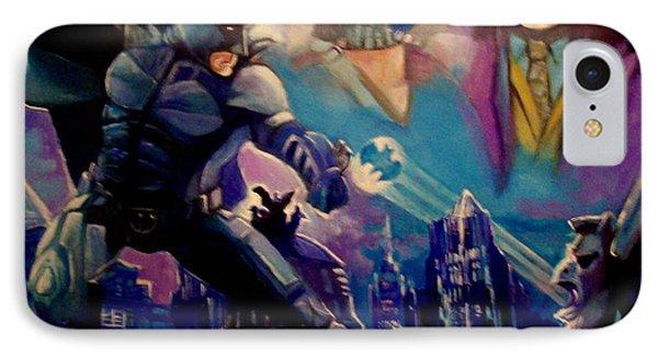 Batman IPhone Case by Paul Weerasekera