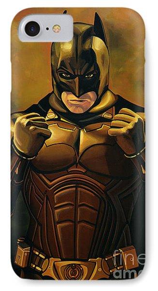 Batman The Dark Knight  IPhone Case by Paul Meijering