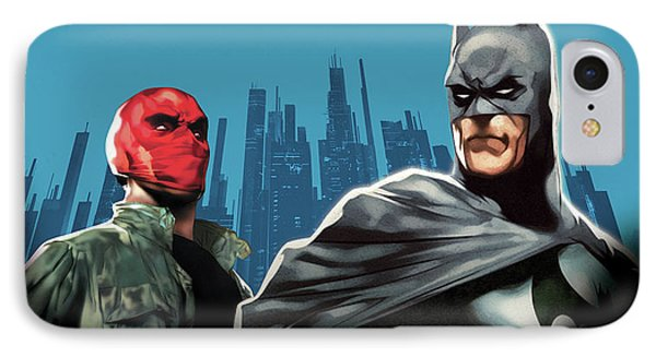 Batman Under The Red Hood 2010  IPhone Case by Unknown