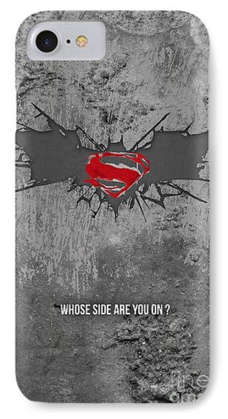 Ben Affleck iPhone 7 Case - Batman V Superman by Parikshit Deshmukh