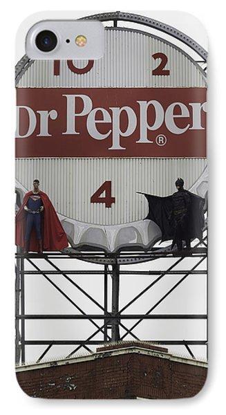 Batman Vs Superman 01 IPhone Case by Teresa Mucha