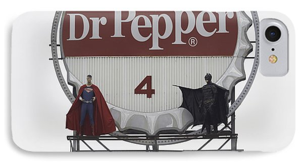 Batman Vs. Superman 04 IPhone Case by Teresa Mucha